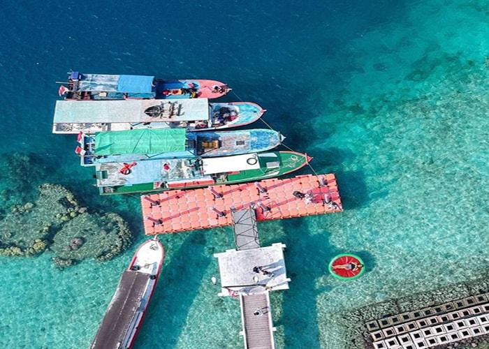boat ke pulau harapan